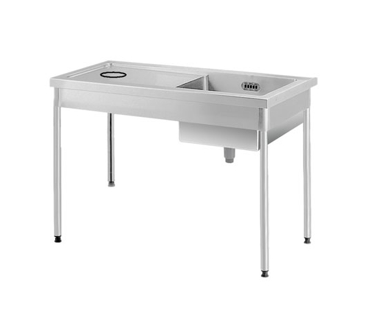 Soiled Table w Sink ATSBAO 12-75 L/R