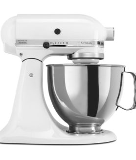 stand mixer kitchen aid classic white