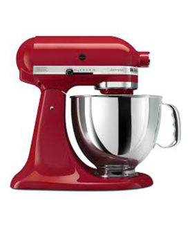 stand mixer kitchen aid empire red