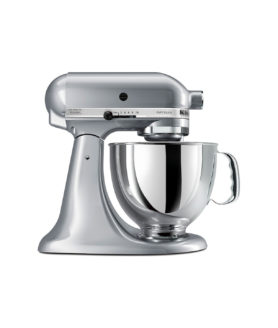 stand mixer kitchen aid metallic chrome