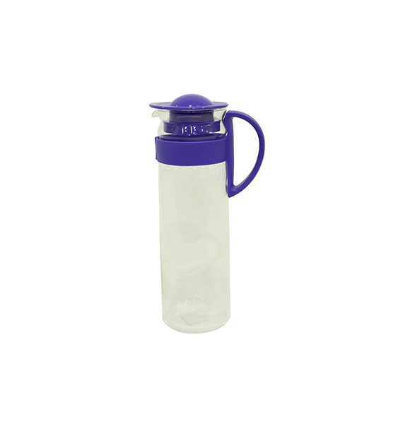 New Aqua Glass 1.4l Handle Purple