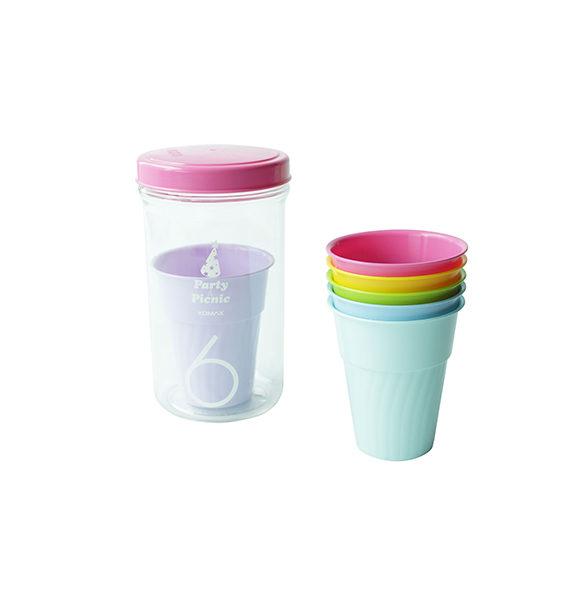 Picnic Cup 6pcs Colors
