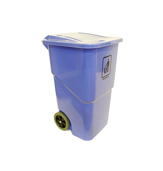 Foot Pedal Even-Cover Garbage Bin 240l