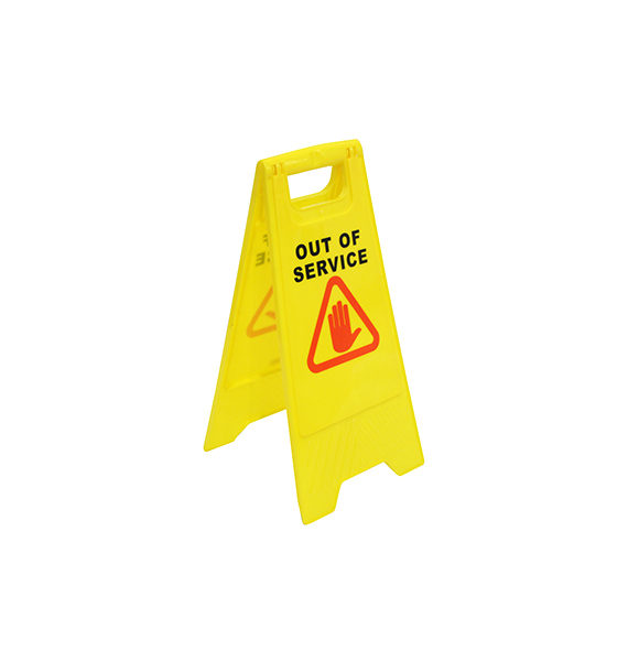 Caution Board Out Of Service