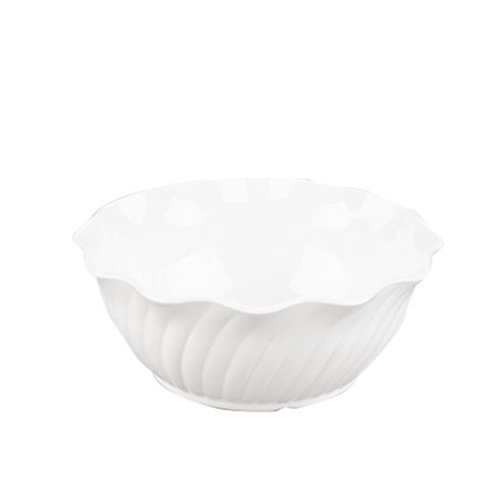 Swirl Bowl 384 White