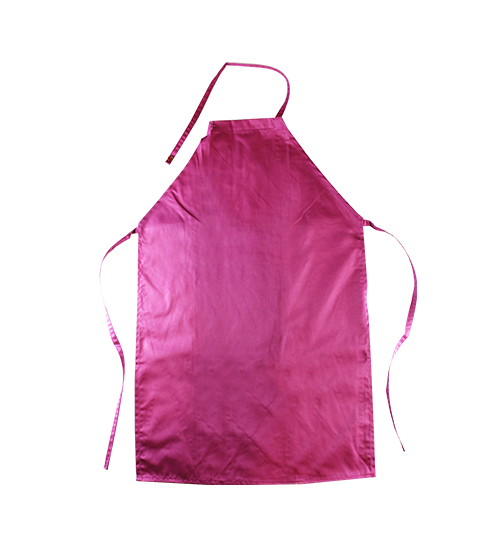 APRON COTTON FULL PINK APCF 001