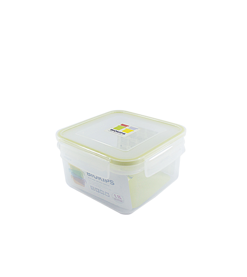 Square Container Biokips Suitable Modular System 1.1L