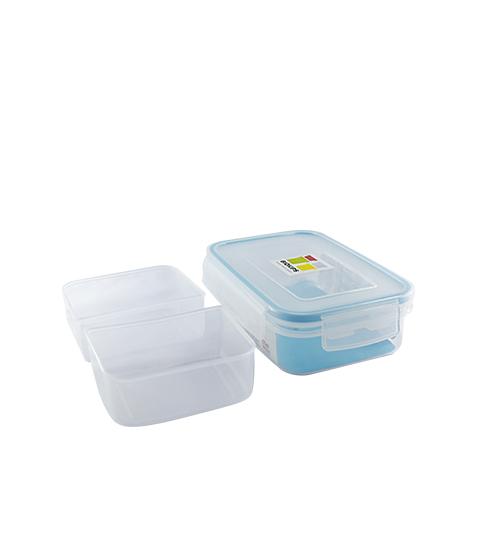 Rectangular Container Biokips w/ Separator 670ml