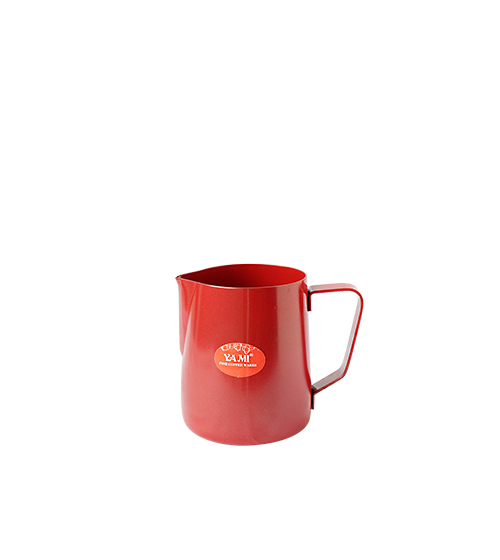 Milk Pitcher Teflon 600 cc (Red)