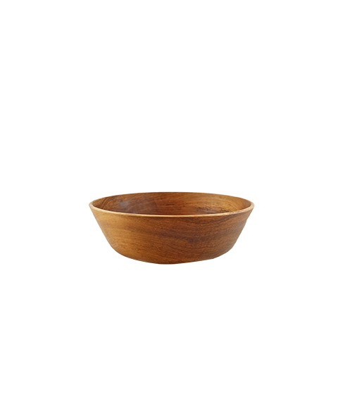 Wooden Large Cup Sauce Diameter 80mm