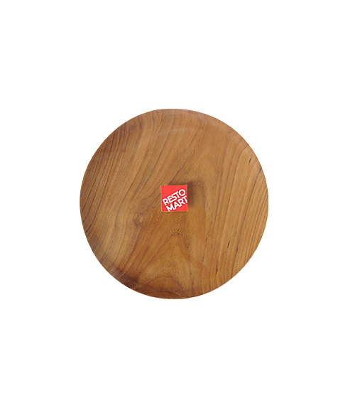 Round Wooden Plate Diameter 300mm