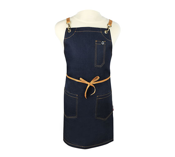 Denim 45 Regular Apron (X Strap)