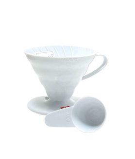 1132006 Vd-02W Coffee Dripper V60 02 White