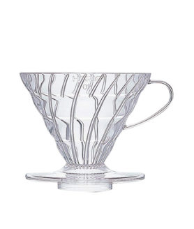 1132009 Vd-02T Coffee Dripper V60 02 Clear
