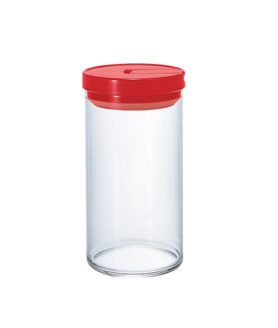 1162044 Mcn-300R Glass Canister L 1000Ml Red