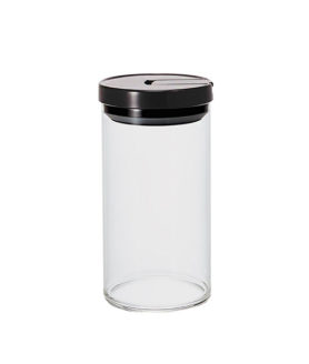 1162045 Mcn-300B Glass Canister L 1000Ml Black
