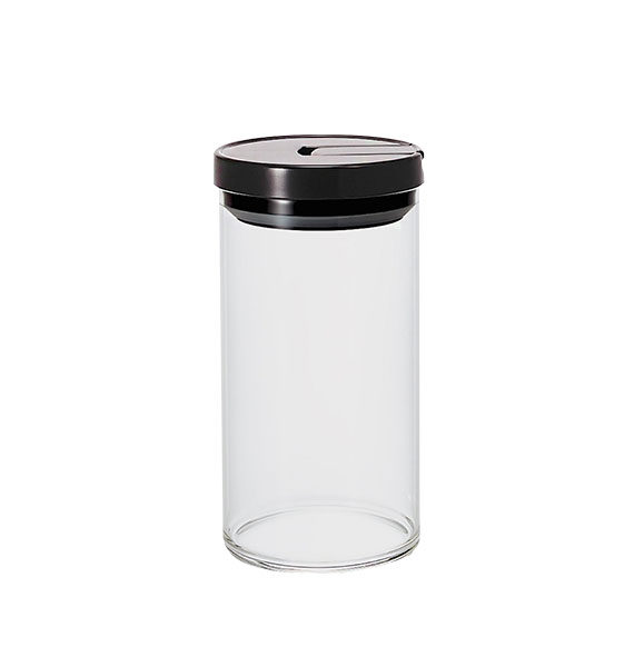 Mcn-300B Glass Canister L 1000Ml Black