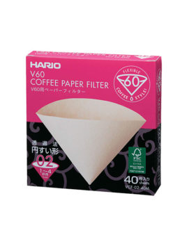 1809016 Vcf-02-40M Paper Filter White For 02 Dripper