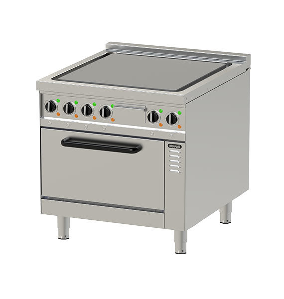 Electric Hot Top Plate with Oven NEHT 8-90 GR