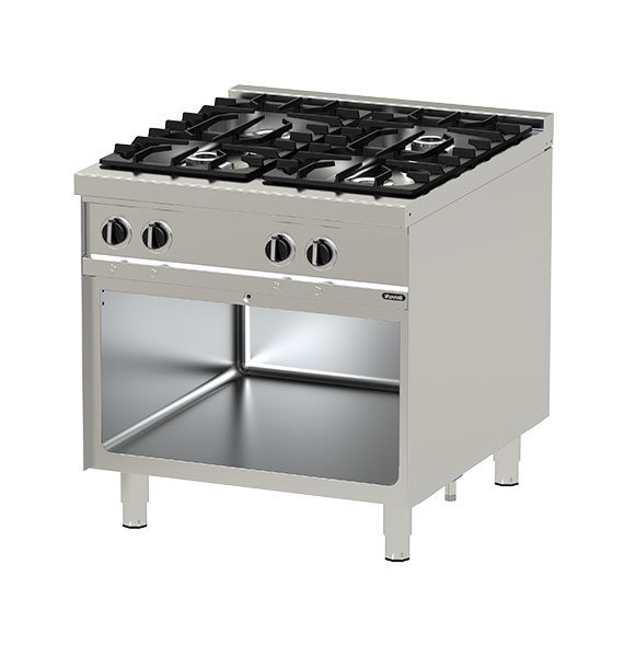 Gas Range with Oven NGTR 8-90 DFX GR